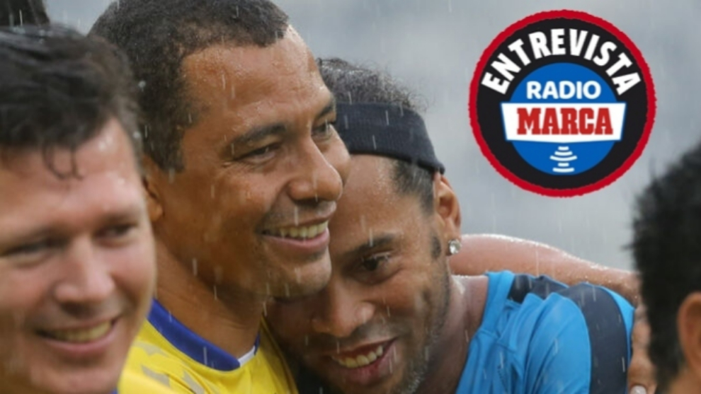 Gilberto Silva: Ronaldinho and Henry would've been unstoppable at Arsenal
