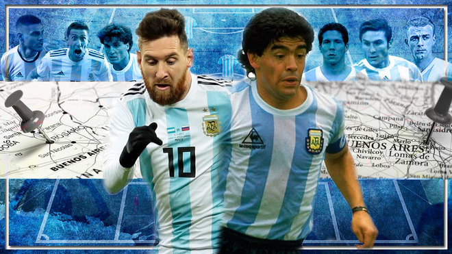 La Rosario de Messi vs la Buenos Aires de Maradona: ¿quién ganaría?