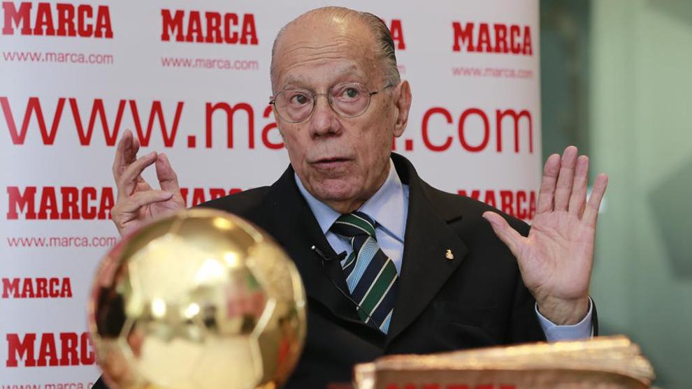 Luis Suárez, durante una entrevista con MARCA.