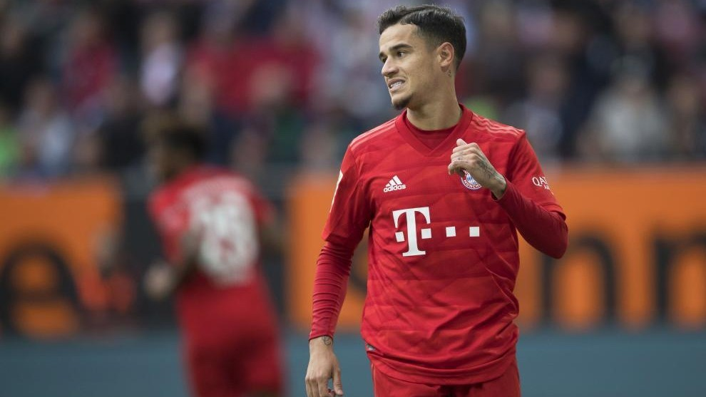 Coutinho to remain at Bayern Munich for two months