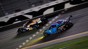 Una imagen de las 24 Horas de Daytona 2020.
