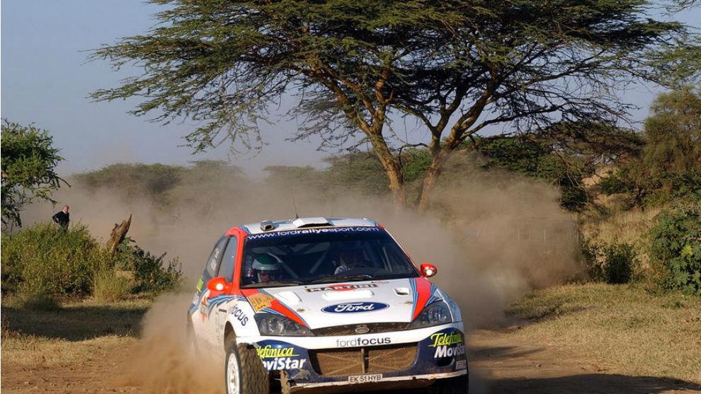 McRae ganó en 2002 la última edición mundialista del Safari.