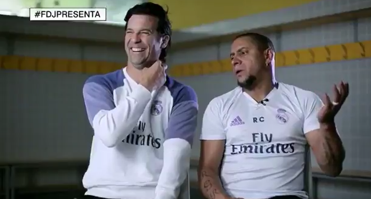 Solari and Roberto Carlos recall Zidane's volley: Very few times I've seen such a beautiful goal