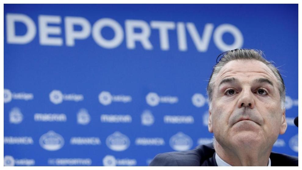 Vidal, presidente del Deportivo
