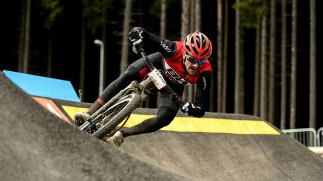 El ciclista español Carlos Coloma.