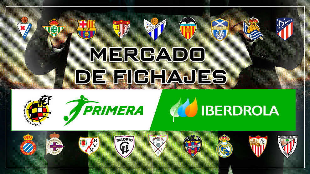Mercado de fichajes Primera Iberdrola - Fútbol femenino 2020-21