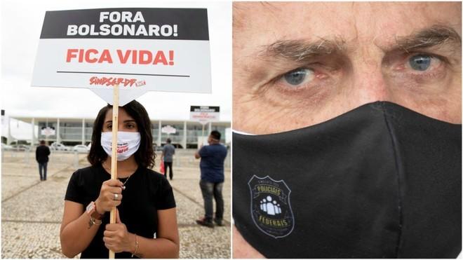 La crisis de Bolsonaro: récord de contagios en Brasil, tres ministros fuera en un mes, acusaciones de injerencia en la Justicia...