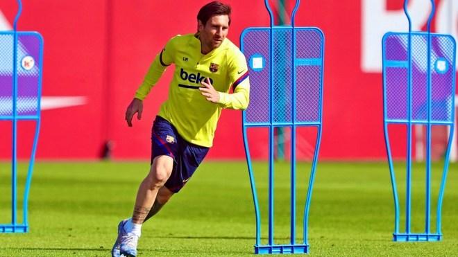 Messi, futbolista del Barcelona.