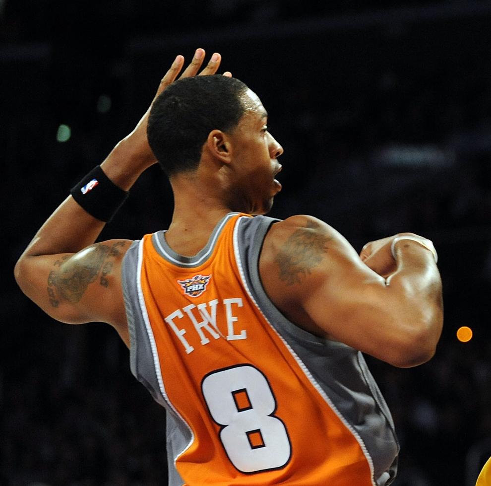 Channing Frye jugando con los Phoenix Suns