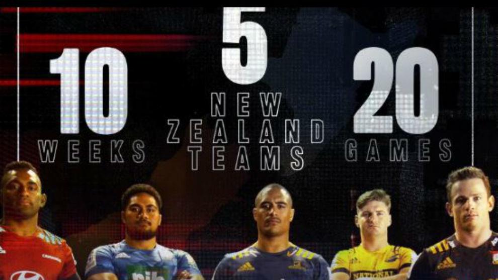 Los cinco equipos que disputarán la liga.