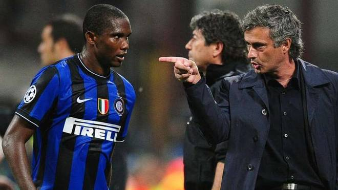 Eto'o: Mourinho convinced me to sign for Inter with a photo and a message