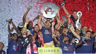 La Ligue 1 dio al PSG campeón.