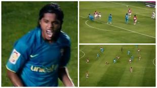La Liga recordó el paso de Giovani dos Santos en el Barcelona.