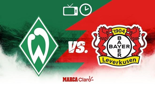 Werder Bremen vs Bayer Leverkusen: Horario y dónde ver hoy en vivo por TV el partido de la jornada 26 de la Bundesliga