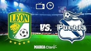León vs Puebla: Horario y dónde ver.