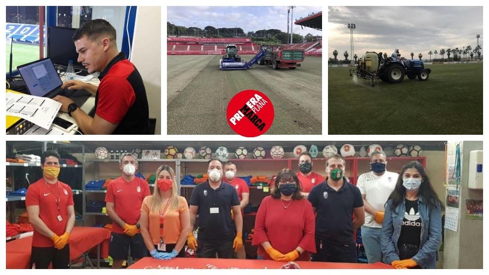 Los trabajadores del fútbol: si LaLiga de la pandemia se completa será por ellos