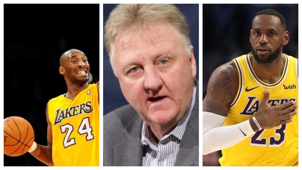 """Larry Bird: """"Si quiero ganar, juego con Kobe y si quiero divertirme, con LeBron"""""""