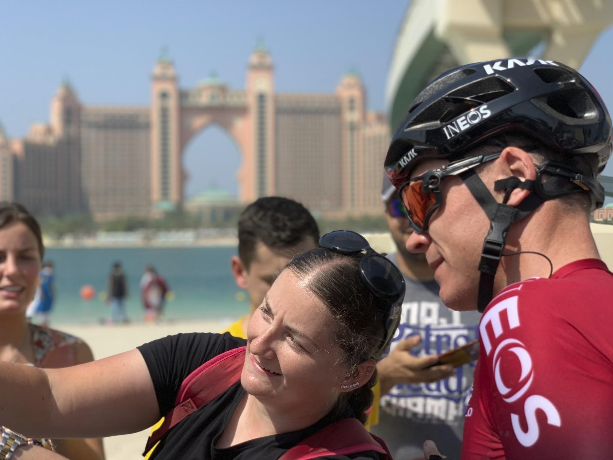 para la página de ciclismo podría ir bien un tema principal de lt;HIT gt;Froome lt;/HIT gt;