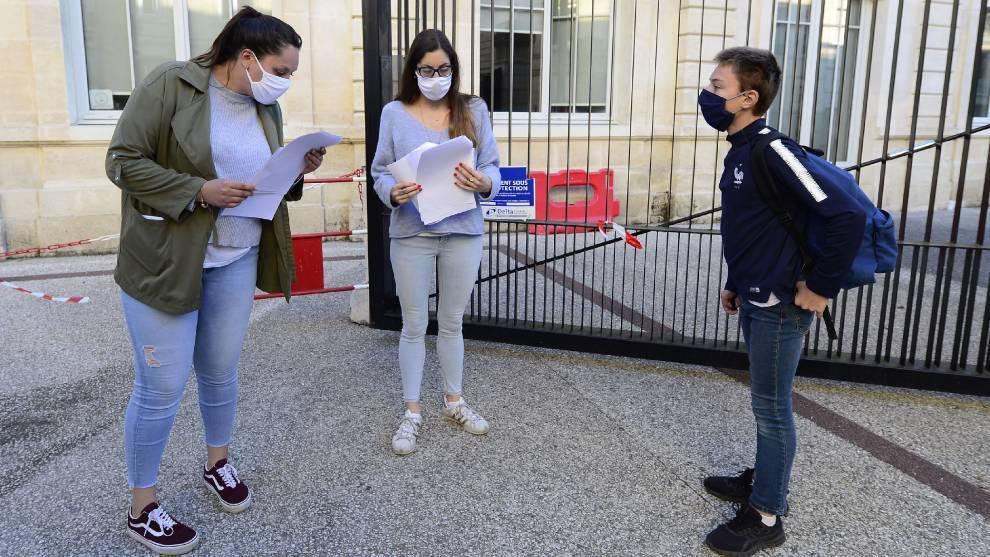 Francia cierra 70 escuelas en una semana por casos de coronavirus