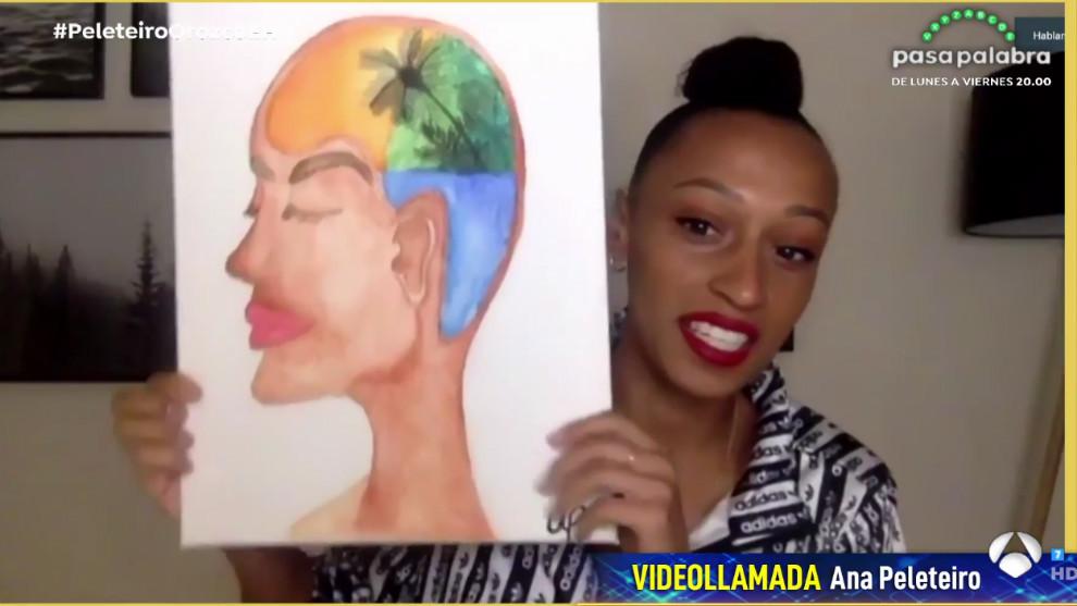 Ana Peleteiro en El Hormiguero: confinamiento con cocina y pintura