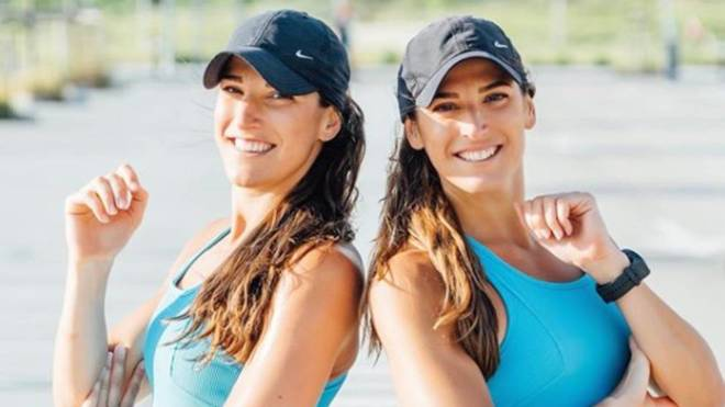 """Las 'Gemelas Pin', de la natación profesional a reinas del 'fitness': """"Ahora tenemos otro tipo de objetivos"""""""