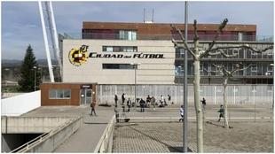 La Ciudad del Fútbol, sede de la RFEF, en Las Rozas.
