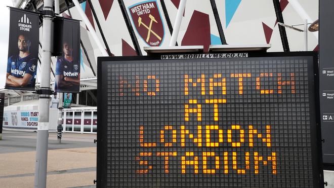 La Premier League busca reanudar tras el parón por el Covid-19.
