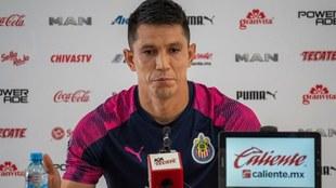 Molina en rueda de prensa.