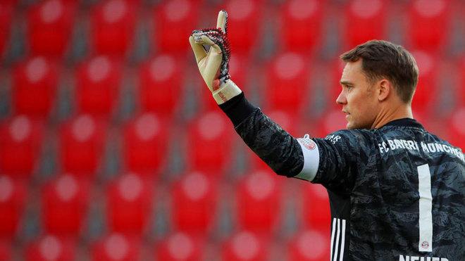 Neuer, con el Bayern ante el Union Berlín.