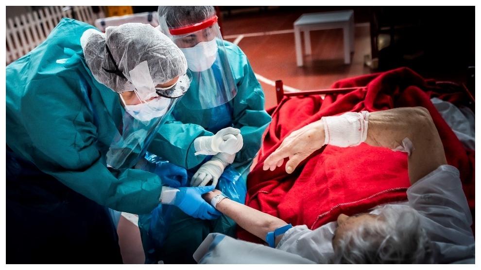 Sintomas coronavirus Personal sanitario del hospital de Aranda de...