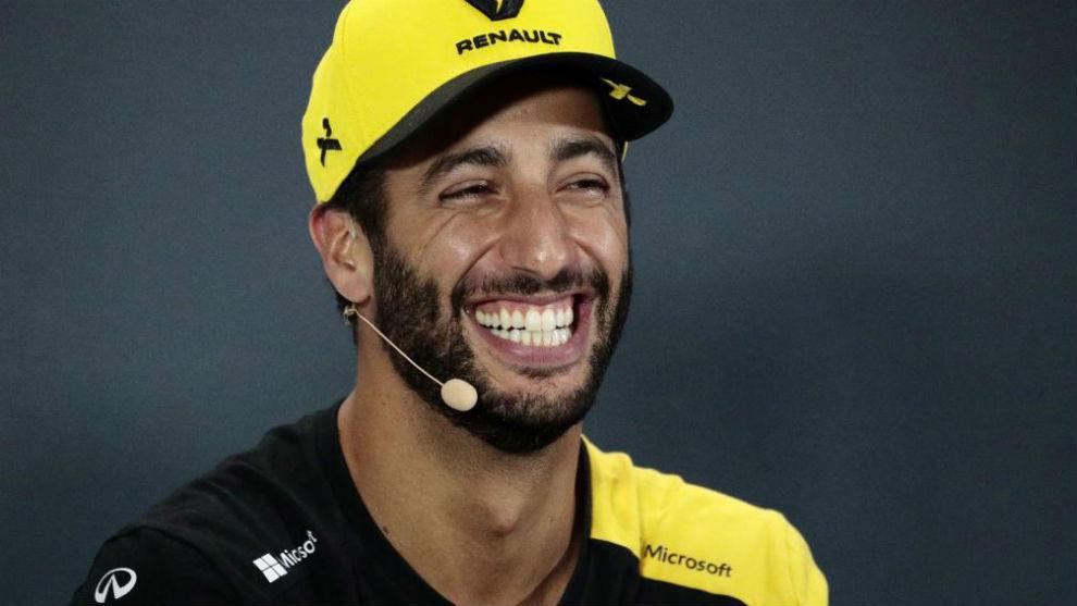 Ricciardo cobrará 10 kilos en McLaren, más 400.000 euros por cada podio