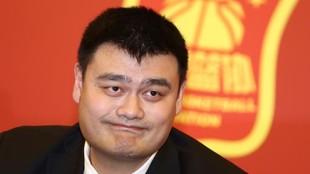 Yao Ming, presidente de la Federación de Baloncesto de China.