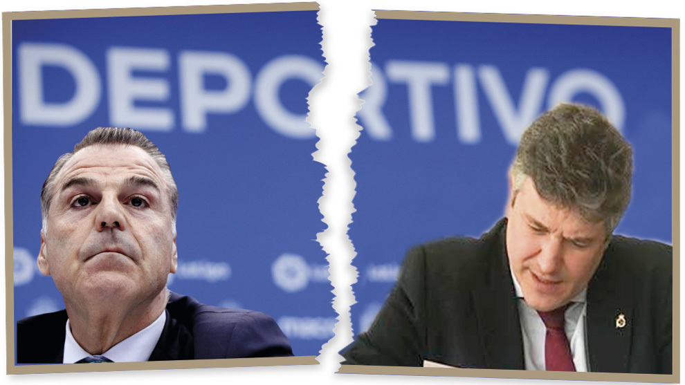 Fernando Vidal y Miguel Otero, en un fotomontaje
