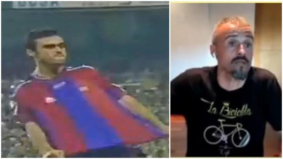 Luis Enrique explains his controversial celebration against Real Madrid