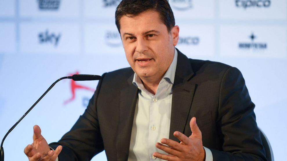 Christian Seifert, CEO de la Bundesliga.