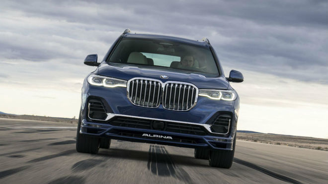 BMW Alpina XB7: el siete plazas con 620 CV que acelera como un superdeportivo