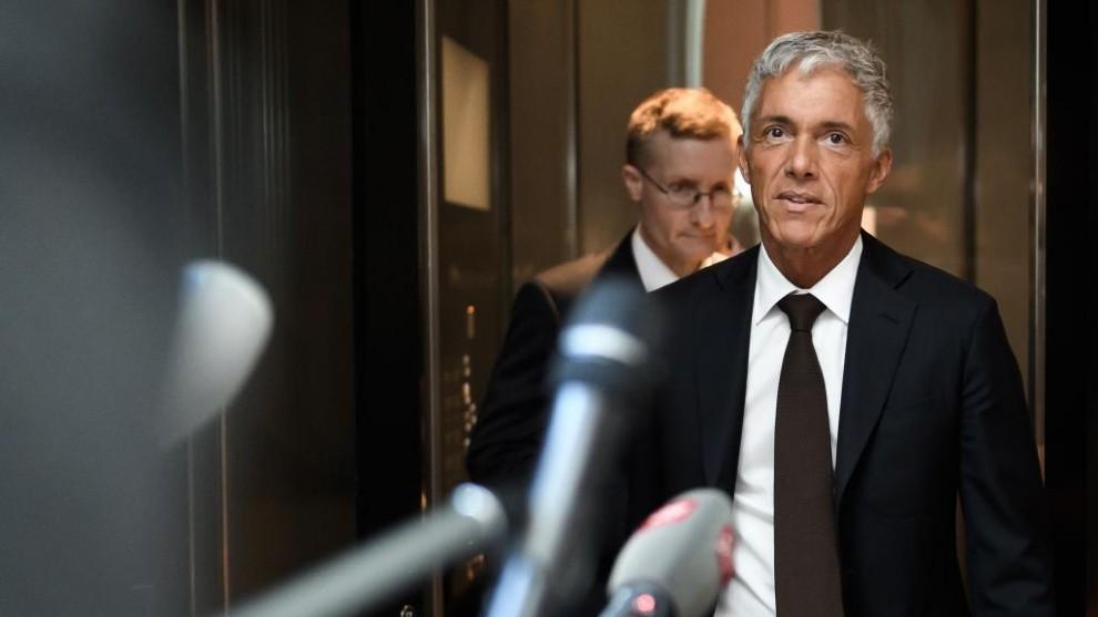 Michael Labuer, fiscal general de la Justicia Suiza.