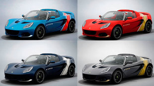 Cada versión está inspirada en un antiguo modelo de competición de...