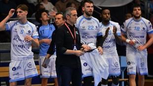 Toni Gerona, durante un partido de la LNH frandesa con su club, el...