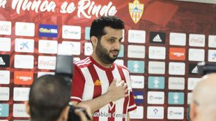 Turki Al-Sheikh, durante una rueda de prensa en Almería