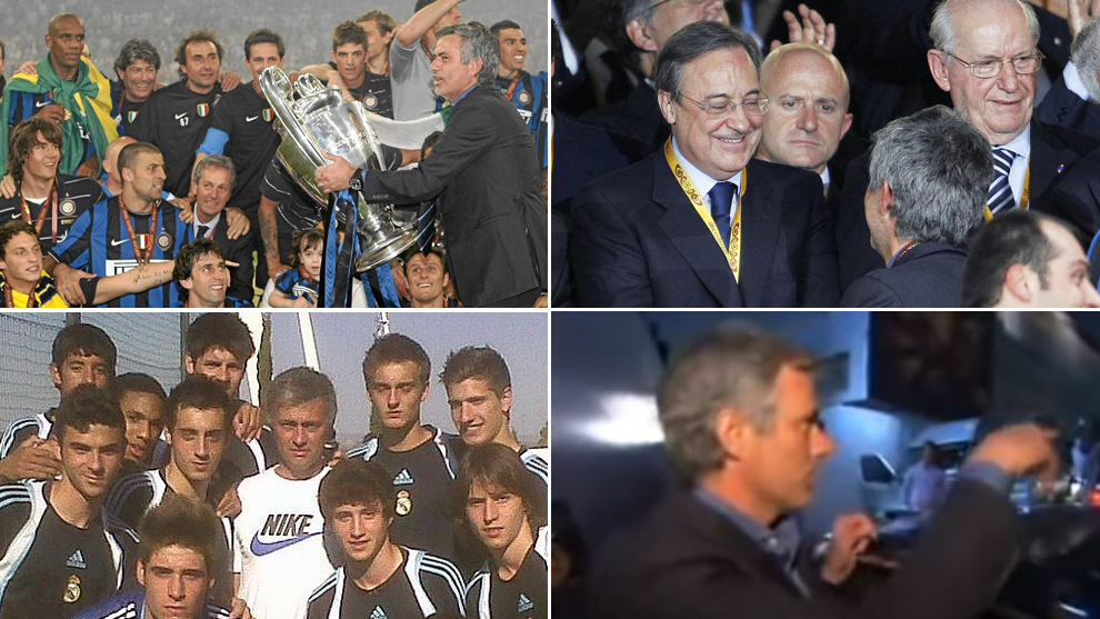 Ten years since the night Jose Mourinho and Florentino Perez sealed their deal