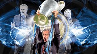 José Mourinho conquista la Champions ganada con el Inter en el...