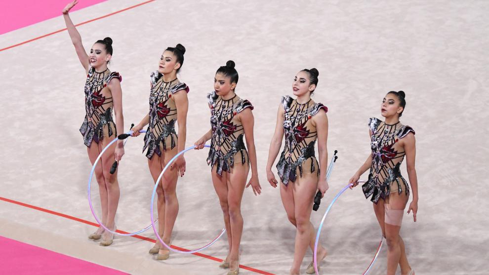El equipo mexicano de gimnasia rítmica aún busca su boleto olímpico