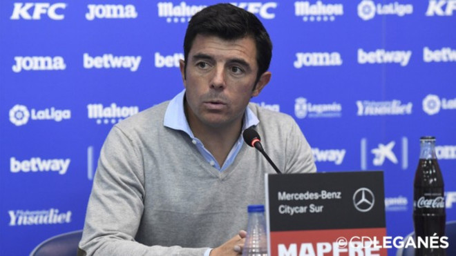 Luis Cembranos, entrenador del filial del Leganés, no seguirá la próxima campaña