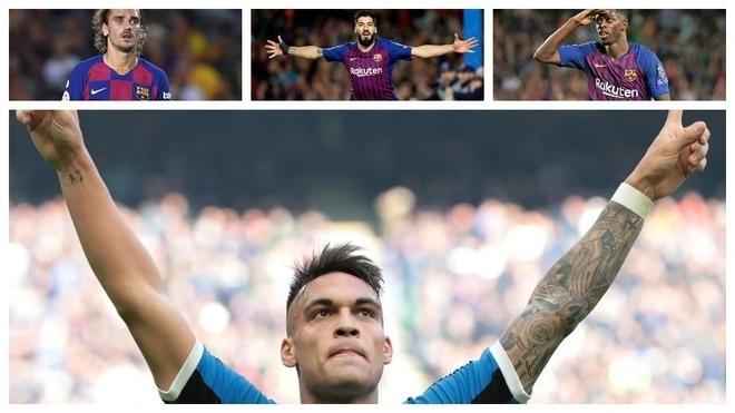 Would Lautaro start at Barcelona?