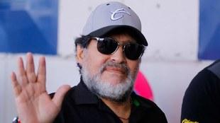 Maradona con Dorados.