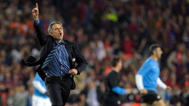 Mourinho: I decided to join Real Madrid after Inter's second leg vs Barcelona in 2010