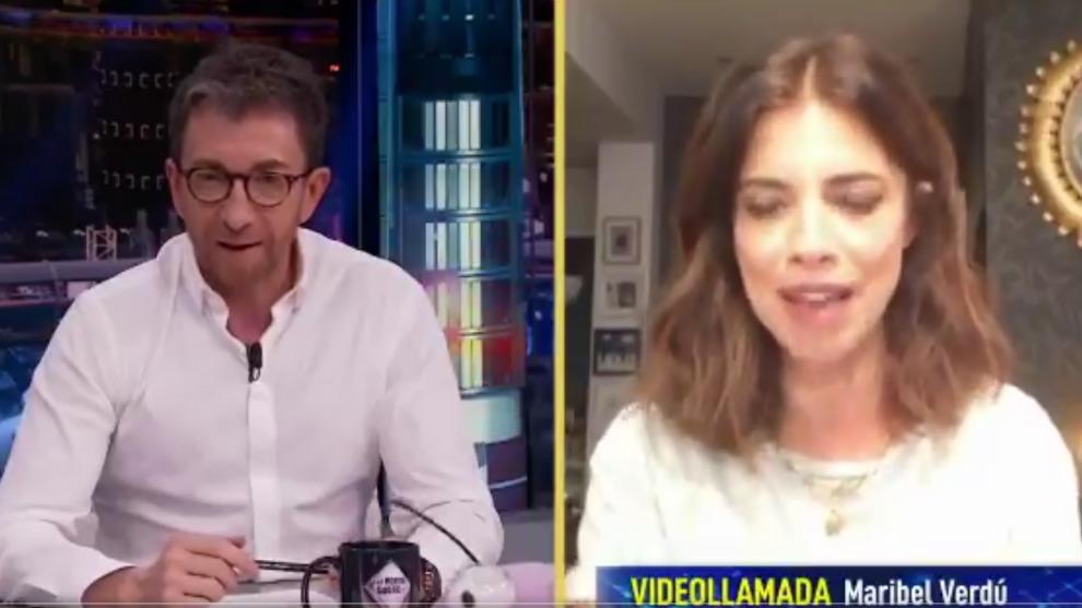 Maribel Verdú cuenta a Pablo Motos en El Hormiguero cómo superó el...