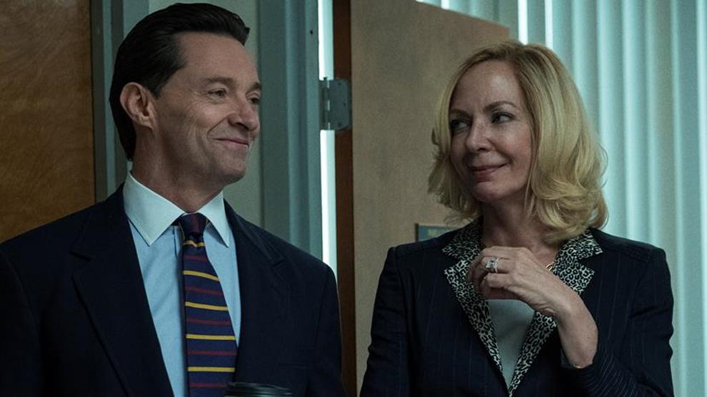Hugh Jackman y Allison Janney en 'La estafa'
