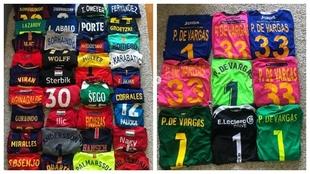 La colección de camisetas de Gonzalo Pérez de Vargas /